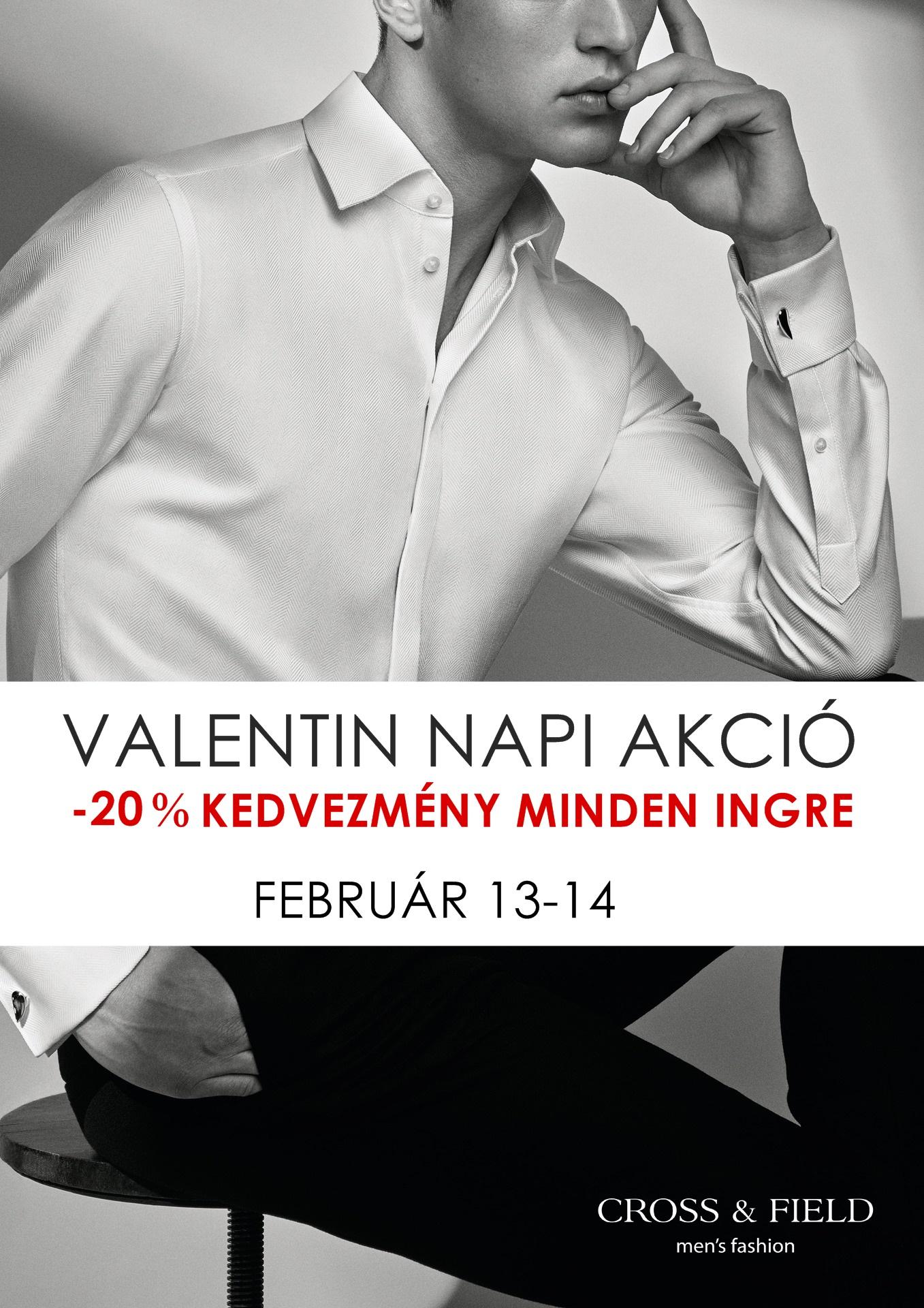 87525d7f7e Valentin napi akció - CROSS&FIELD MEN'S FASHION